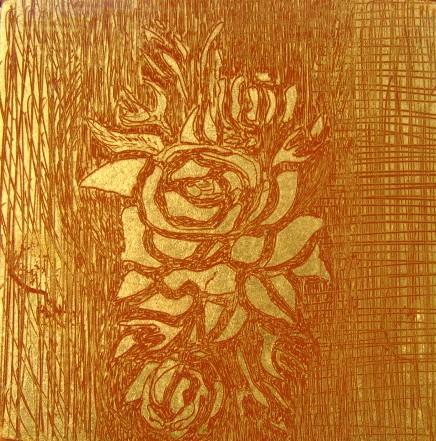 Oro e argento la linea della spatola - Pannelli decorativi murali ...